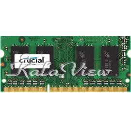 رم کامپیوتر کروشیال DDR3 1066Mhz Sodimm 4Gb