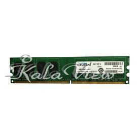 رم کامپیوتر Crucial DDR2( PC2 ) 800( 6400 ) 2GB CL6 single channel Udimm