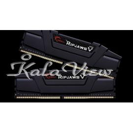 رم کامپیوتر G Skill Ripjaws V DDR4( PC4 ) 3200 ( 25600 ) 16GB CL16 Dual Channel
