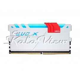 رم کامپیوتر Geil Evo X DDR4 2400MHz CL16 Single Channel Desktop RAM 8GB
