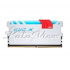 رم کامپیوتر Geil Evo X DDR4 2400Mhz Cl16 Single Channel 8Gb