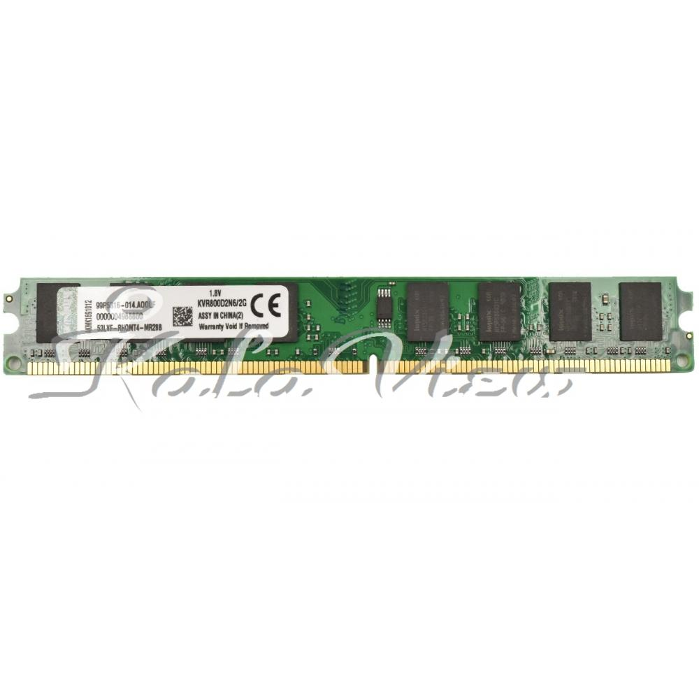 رم کامپیوتر Kingston DDR2( PC2 ) 800( 6400 ) Single Channel 2GB