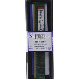 رم کامپیوتر Kingston Value DDR3( PC3 ) 1600( 12800 ) 8GB CL11 Single Channel
