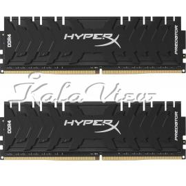 رم کامپیوتر Kingston HyperX Predator DDR4( PC4 ) 3000( 24000 ) 16GB CL15 Dual Channel