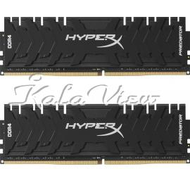 رم کامپیوتر Kingston HyperX Predator DDR4( PC4 ) 3200( 25600 ) 8GB CL16 Dual Channel