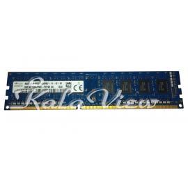 رم کامپیوتر Sk Hynix DDR3( PC3 ) 1600( 12800 ) 4GB Single Channel