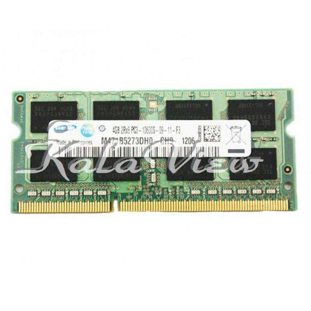 رم لپ تاپ مدل Samsung M471b5273dh0 DDR3( PC3 ) 1333( 10600 ) 4GB CL9 Single Channel