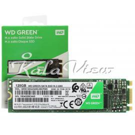 اس اس دي اينترنال وسترن ديجيتال مدل Green Wds120g2g0b ظرفيت 120 گيگابايت