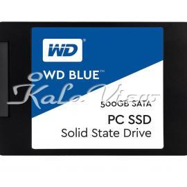 هارد اس اس دی کامپیوتر وسترن Digital BLUE WDS500G1B0A SSD Drive  500GB