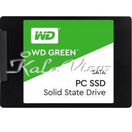 هارد اس اس دی کامپیوتر وسترن Digital GREEN WDS120G1G0A SSD Drive  120GB