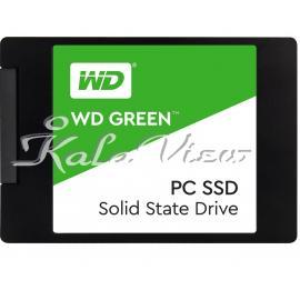 هارد اس اس دی کامپیوتر وسترن Digital Green PC WDS120G2G0A Internal SSD Drive 120GB