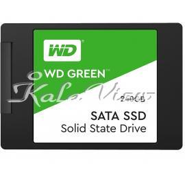 هارد اس اس دی کامپیوتر وسترن Digital Green WDS240G2G0A Internal SSD Drive 240GB