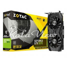 کارت گرافیک کامپیوتر Zotac GTX 1070 AMP EDITION 8GB