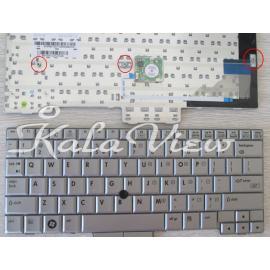 کیبورد لپ تاپ اچ پی Elitebook 2710p