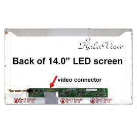 صفحه نمایش لپ تاپ LED 14 inch Normal 40 pin (1366 * 768) Glossy