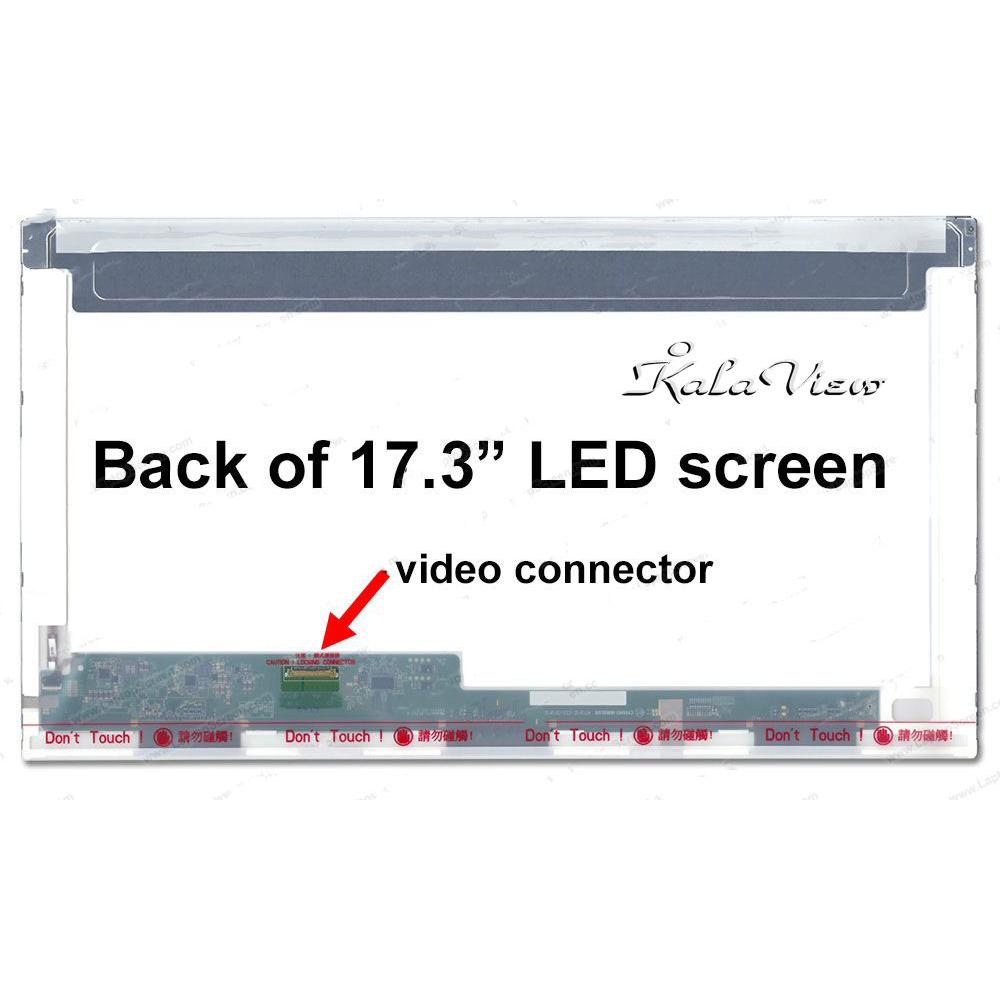 صفحه نمایش لپ تاپ LED 17.3 inch Normal 30 pin (1600 * 900) HD+ Glossy