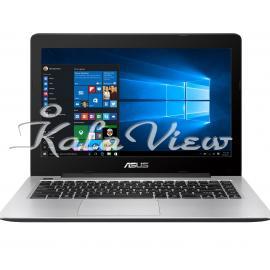 Asus K Series K456UR 14 inch(LED TFT-1366x768)/Core i7(6500U-2.5 up 3.1GHz-GeForce930MX)/2GB/8GB/1TB(hybrid-1TB+8GBssd)