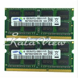 رم لپ تاپ (12800)Kingston 8GB DDR3L 1600