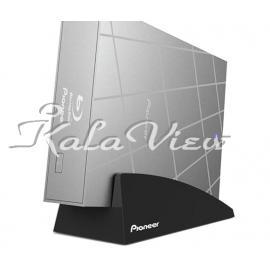 دی وی دی اکسترنال لوازم جانبی پایونیر BDR X09TWith Stand External