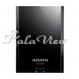 هارد اکسترنال لوازم جانبی Adata DashDrive Air AE800 Wireless HDD and Power Bank 500GB