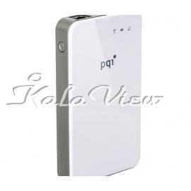هارد اکسترنال لوازم جانبی Pqi A300 Air Bank Portable Wi Fi Hard Drive 500GB