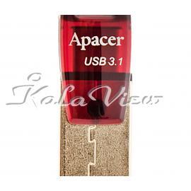 فلش مموری لوازم جانبی Apacer AH 180 USB Type C  64GB