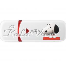 فلش مموری لوازم جانبی Apacer AH333 Snoopy Edition  64GB