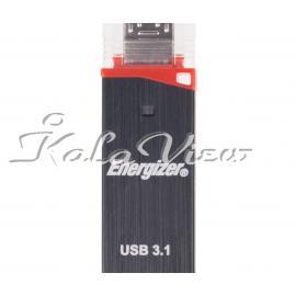 فلش مموری لوازم جانبی Energizer Ultimate OTG USB 3 0  64GB