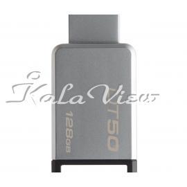 فلش مموری لوازم جانبی کینگستون DataTraveler 50  128GB