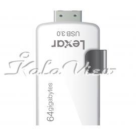 فلش مموری لوازم جانبی Lexar Jump M20i OTG  64GB