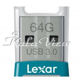 فلش مموری لوازم جانبی Lexar Jump S45 64GB