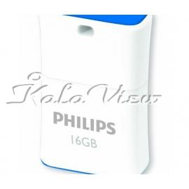 فلش مموری لوازم جانبی فیلیپس Pico Edition FM16FD85B 97 USB 2 0  16GB