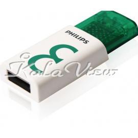 فلش مموری لوازم جانبی فیلیپس Eject Edition FM08FD60B USB 2 0  8GB