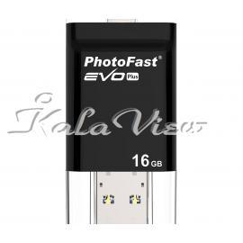 فلش مموری لوازم جانبی Photofast i Flash Evo Plus OTG  16GB