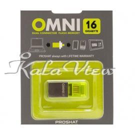 فلش مموری لوازم جانبی Proshat Omni USB 2 0 OTG  16GB
