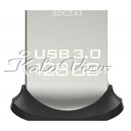 فلش مموری لوازم جانبی سن دیسک Ultra Fit SDCZ43 USB 3 0  128GB