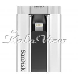 فلش مموری لوازم جانبی سن دیسک iXpand USB and Lightning  64GB