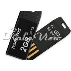 فلش مموری لوازم جانبی ترنسند JetFlash T3  2GB