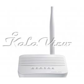 مودم و روتر شبکه ایسوس DSL N10S Wireless N150 ECO Wi Fi ADSL