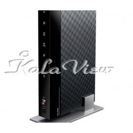 مودم و روتر شبکه ایسوس DSL N66U Stylish Concurrent Dual Band Wireless N900 Gigabit