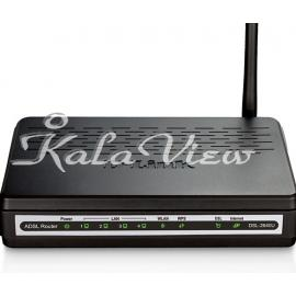 مودم و روتر شبکه D link DSL 2640U N Wireless ADSL2+ 4 Port