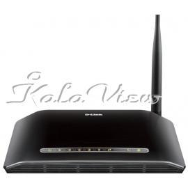 مودم و روتر شبکه D link DSL 2730U N150 ADSL2+ Wireless Router