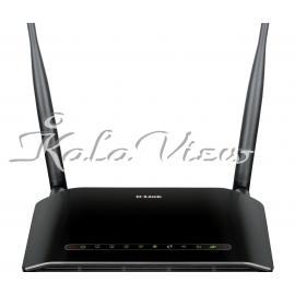 مودم و روتر شبکه D link DSL 2740U Wireless N300 ADSL2+