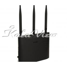 مودم و روتر شبکه D link DSL 2877AL Dual Band Wieless AC750 ADSL2 Plus