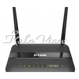 مودم و روتر شبکه D link N300 Wireless Adsl2+ Dsl 124