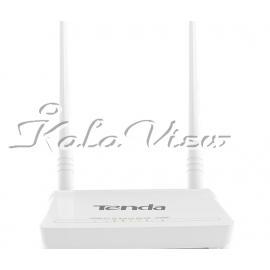 مودم و روتر شبکه Tenda D302 Wireless N300 ADSL2+