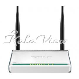 مودم و روتر شبکه Tenda W300D Wireless N300 ADSL2+