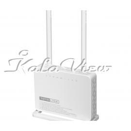 مودم و روتر شبکه Totolink ND300 Wireless ADSL2 2 Plus