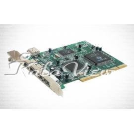کارت شبکه شبکه D link Combo USB 2 0 FireWire PCI Card DFB A5