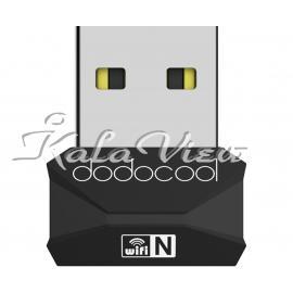 کارت شبکه شبکه Dodocool Dc36 Mini Usb Wireless